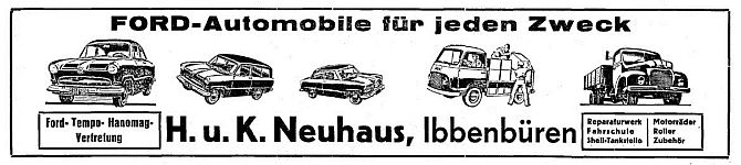 H. K. Neuhaus - Ford Automobile