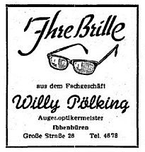 Willy Pölking - Augenoptokermeister